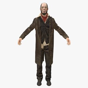 butler rigged model