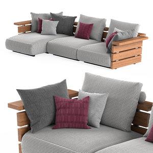 ontario sofa 3D