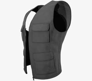 3D gray vest model