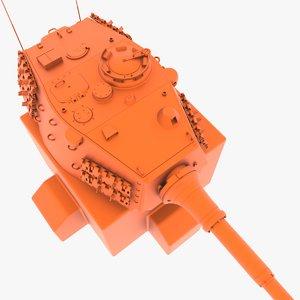 3D 10 5 cm model