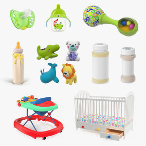 childcare products 5 child 3D