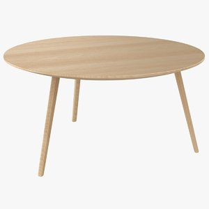3D bornholm coffee table