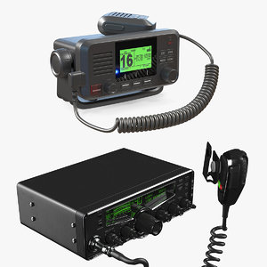 3D receivers vhf marine model