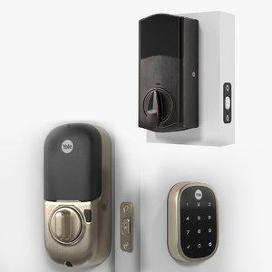 3D smart locks