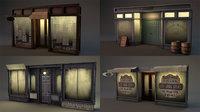 Aged Vintage Storefronts