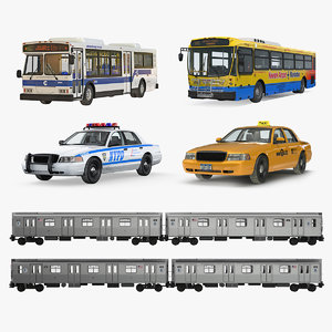 nhc public rigged vehicles 3D