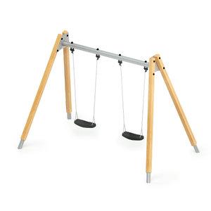 3D swing double hardwood model