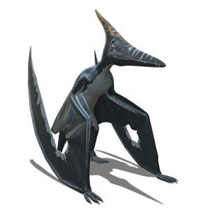 pteranodon longiceps 3D model