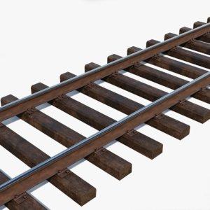 railway track rail model