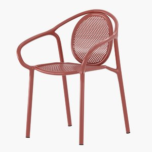 remind 3735 outdoor chair 3D model