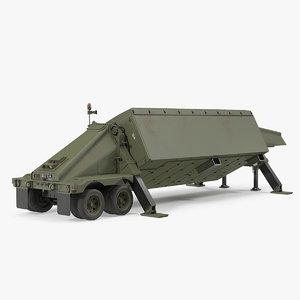 surveillance transportable radar tpy2 3D