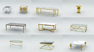 coffee table luxury 3D model