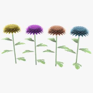 3D flowers cushion chrysanthemim