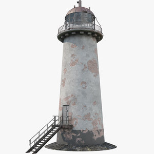 3D lighthouse light house