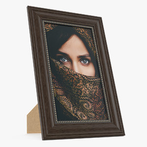 photo frame picture 3D model