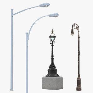 street lamps 2 model
