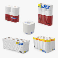 Toilet Paper Packs Collection
