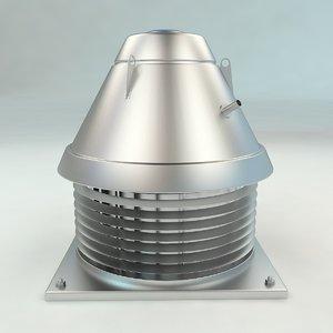 roof ventilation 3D model