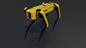 spot robot blender 3D model
