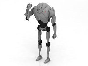 star b2 super battle droid 3D