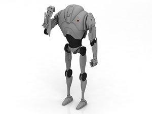 star b2 super battle droid 3D