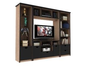 3D modular living room