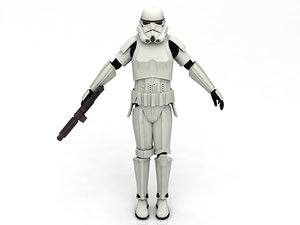 sandtrooper stormtrooper 3D model