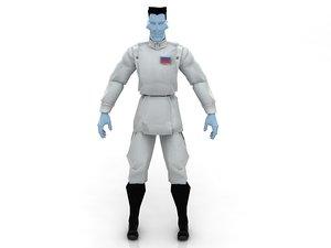 grand admiral thrawn uniform model