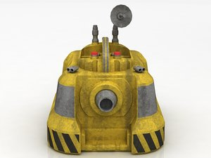 3D wash droid model