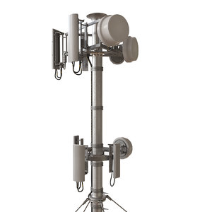 3D model telecommunications antennas