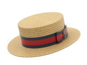 boater hat model