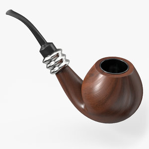 smoking pipe model