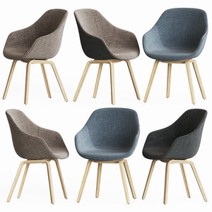 3D aac 123 chair hay
