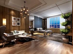 apartments house interiors 3D model