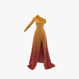 dress real model