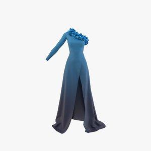 3D dress real model