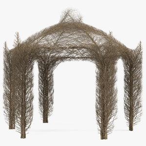 branch gazebo 3D model