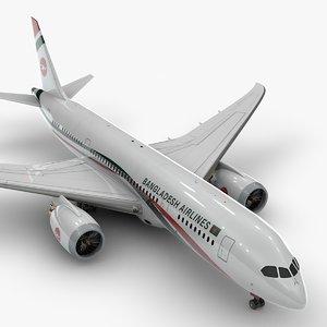 3D boeing 787 dreamliner bangladesh