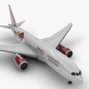 boeing 787 dreamliner juneyao 3D