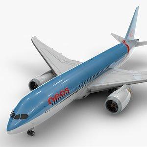 3D 787 dreamliner neos air model