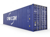 40 ft CMA-CGM High Cube shipping container