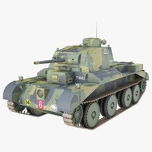 cruiser mark iii a13 3D model