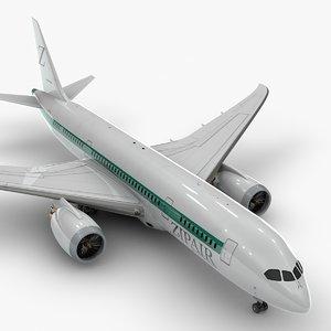 3D boeing 787 dreamliner zipair