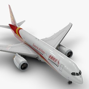 787 dreamliner suparna airlines 3D