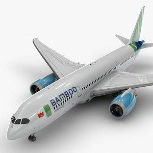 3D 787 dreamliner bamboo airways