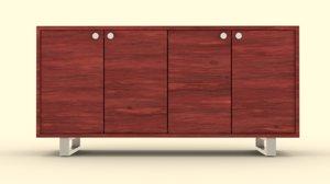 3D sideboard furniture