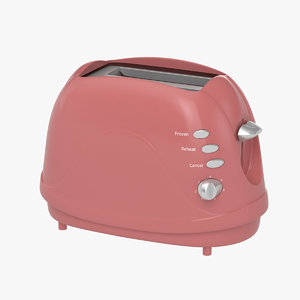 3D model toaster appliance