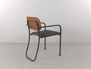 miss furniture chair 3D model