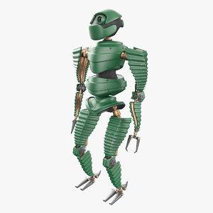 3D robot mech mecha model