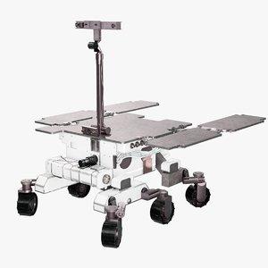 3D rosalind exomars mars rover model